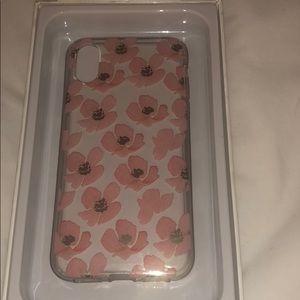 iPhone X flora phone case